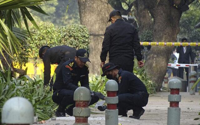 India Israel Blast